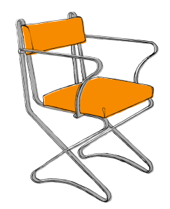 Maria-Pergay-x-chair