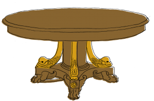 english-regency-table